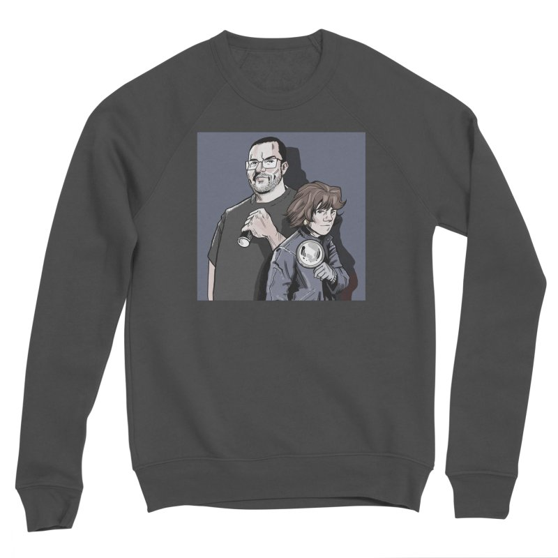 Logo (Square Gray) Men's Sponge Fleece Sweatshirt by Out of the Shadows's Store