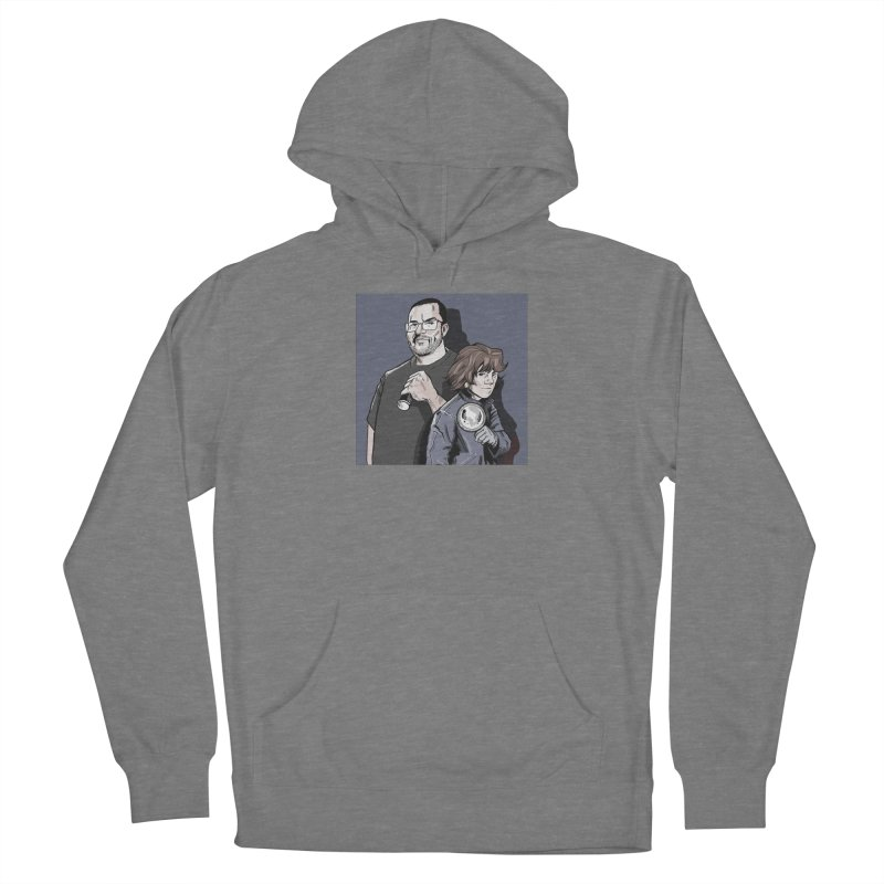 Logo (Square Gray) Women's Pullover Hoody by Out of the Shadows's Store