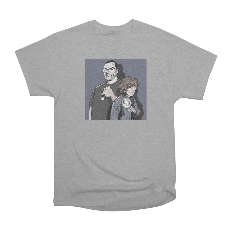 Logo (Square Gray) Men's Heavyweight T-Shirt by Out of the Shadows's Store