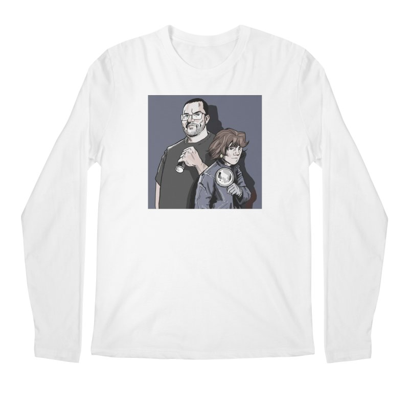 Logo (Square Gray) Men's Regular Longsleeve T-Shirt by Out of the Shadows's Store