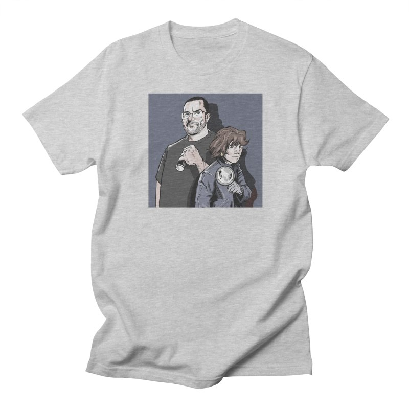 Logo (Square Gray) Men's Regular T-Shirt by Out of the Shadows's Store
