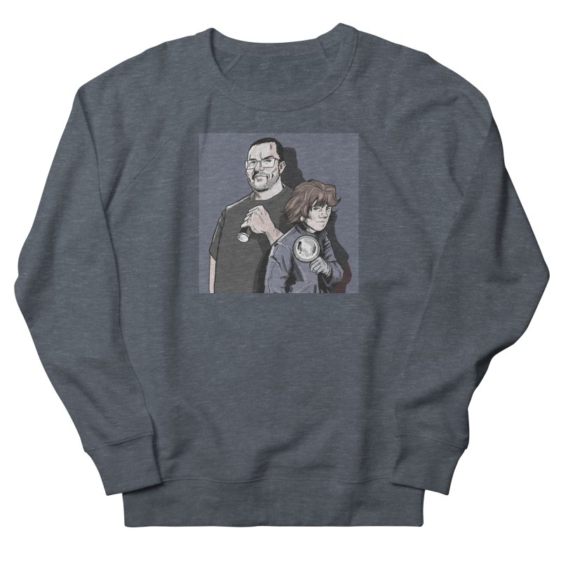Logo (Square Gray) Men's French Terry Sweatshirt by Out of the Shadows's Store