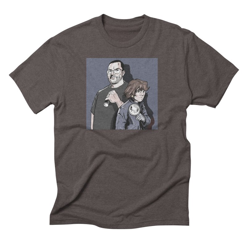 Logo (Square Gray) Men's Triblend T-Shirt by Out of the Shadows's Store