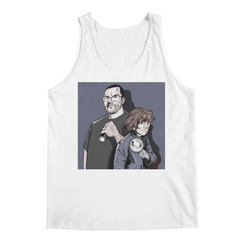 Logo (Square Gray) Men's Regular Tank by Out of the Shadows's Store