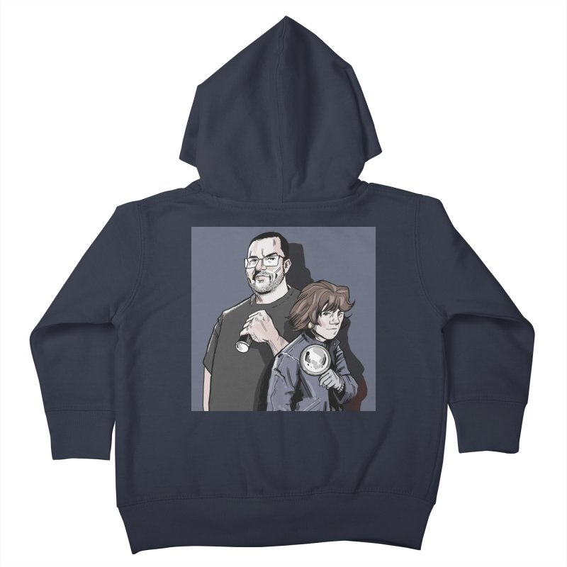 Logo (Square Gray) Kids Toddler Zip-Up Hoody by Out of the Shadows's Store
