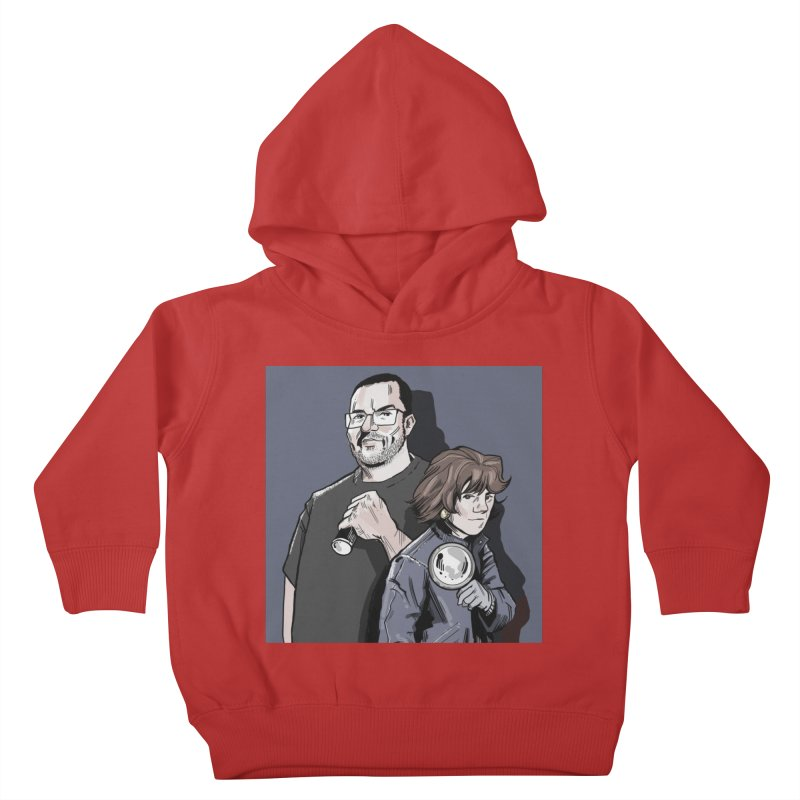 Logo (Square Gray) Kids Toddler Pullover Hoody by Out of the Shadows's Store