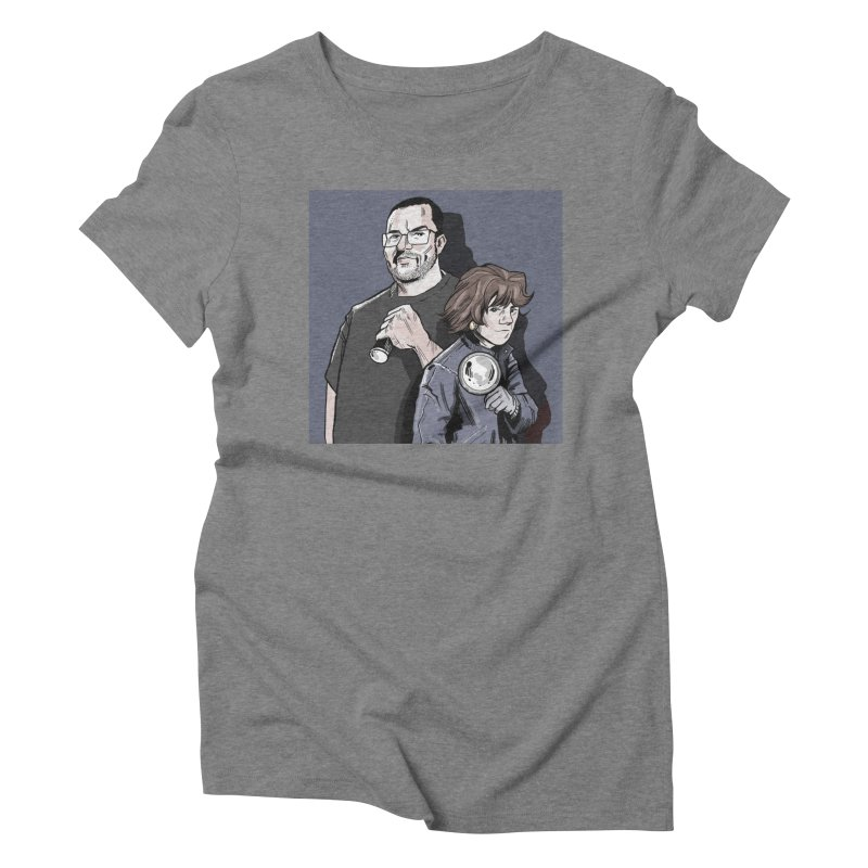 Logo (Square Gray) Women's Triblend T-Shirt by Out of the Shadows's Store