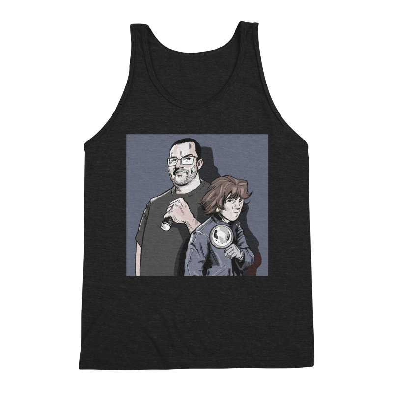 Logo (Square Gray) Men's Triblend Tank by Out of the Shadows's Store