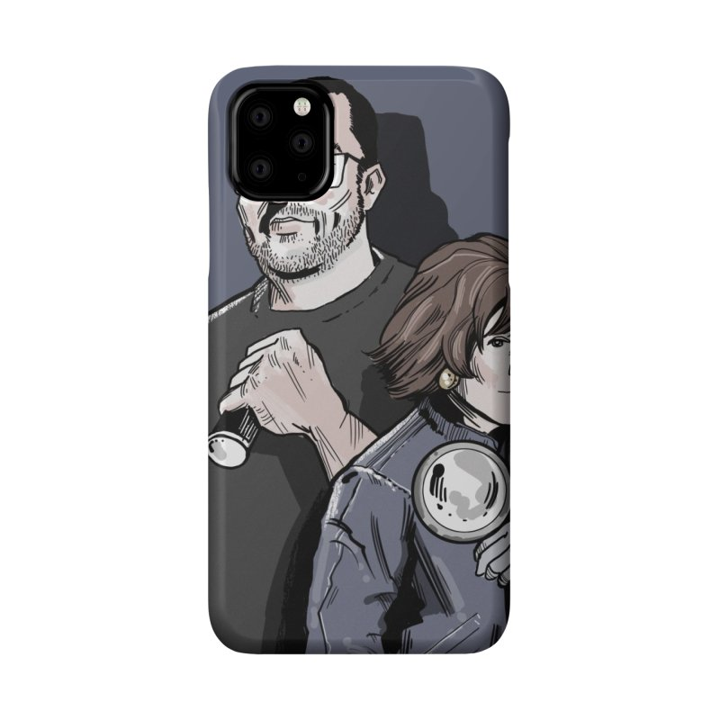 Logo (Square Gray) Accessories Phone Case by Out of the Shadows's Store