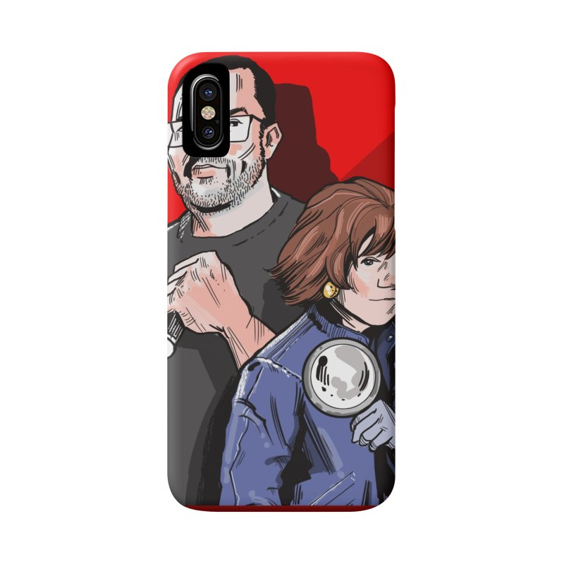 Logo (Square Red) Accessories Phone Case by Out of the Shadows's Store