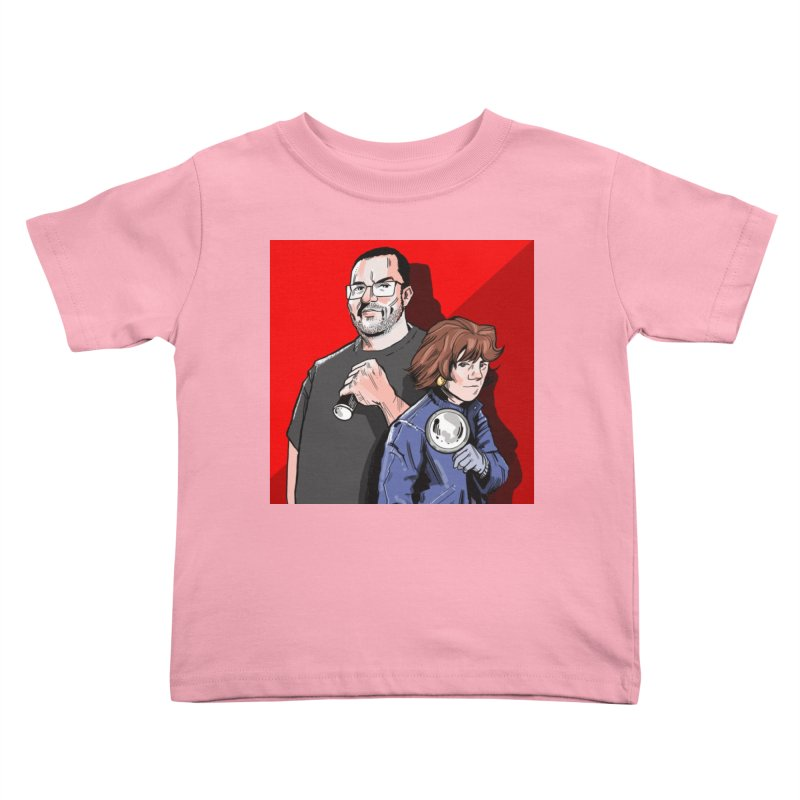 Logo (Square Red) Kids Toddler T-Shirt by Out of the Shadows's Store
