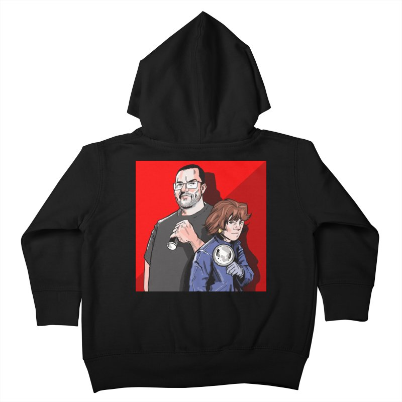 Logo (Square Red) Kids Toddler Zip-Up Hoody by Out of the Shadows's Store