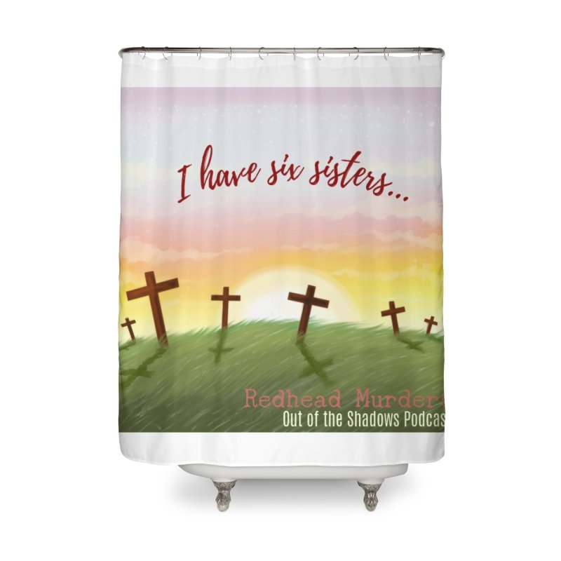Redhead Murders Home Shower Curtain by Out of the Shadows's Store