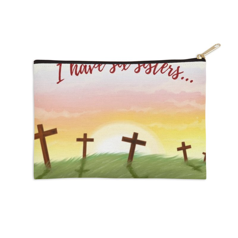 Redhead Murders Accessories Zip Pouch by Out of the Shadows's Store