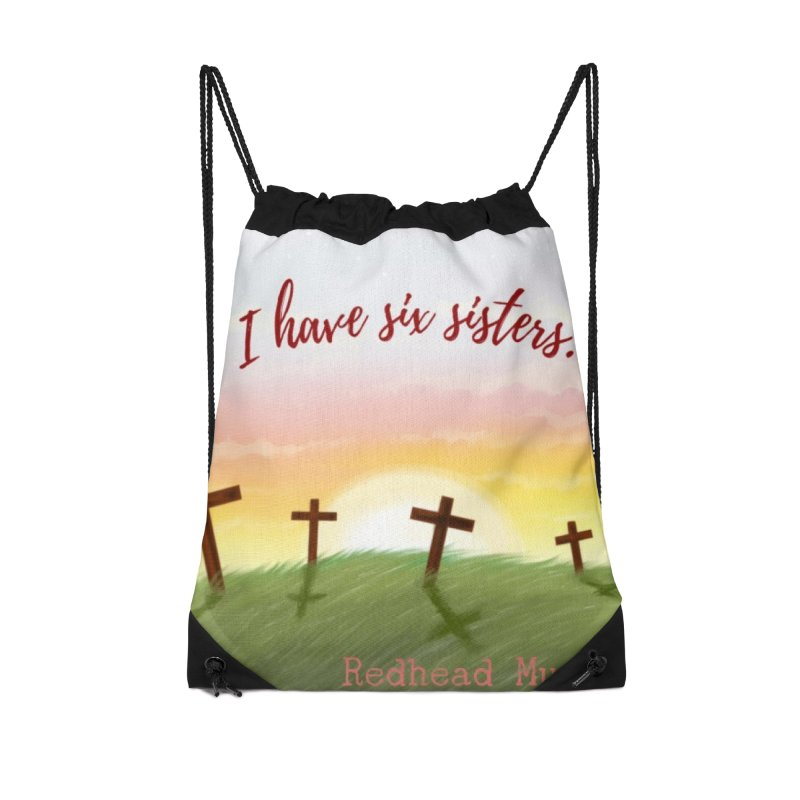 Redhead Murders Accessories Drawstring Bag Bag by Out of the Shadows's Store