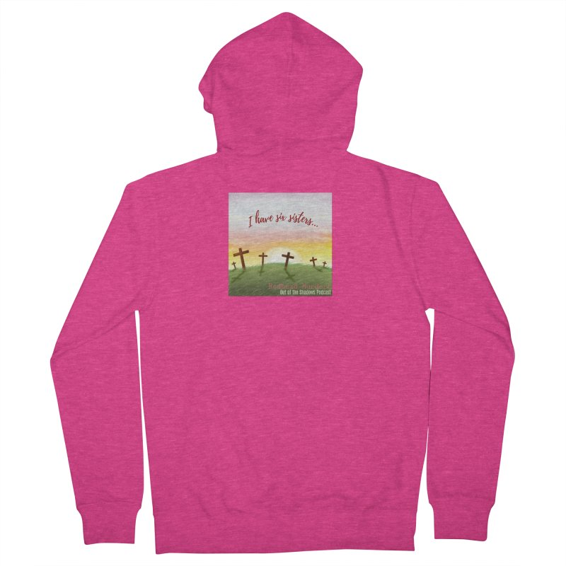 Redhead Murders Women's French Terry Zip-Up Hoody by Out of the Shadows's Store