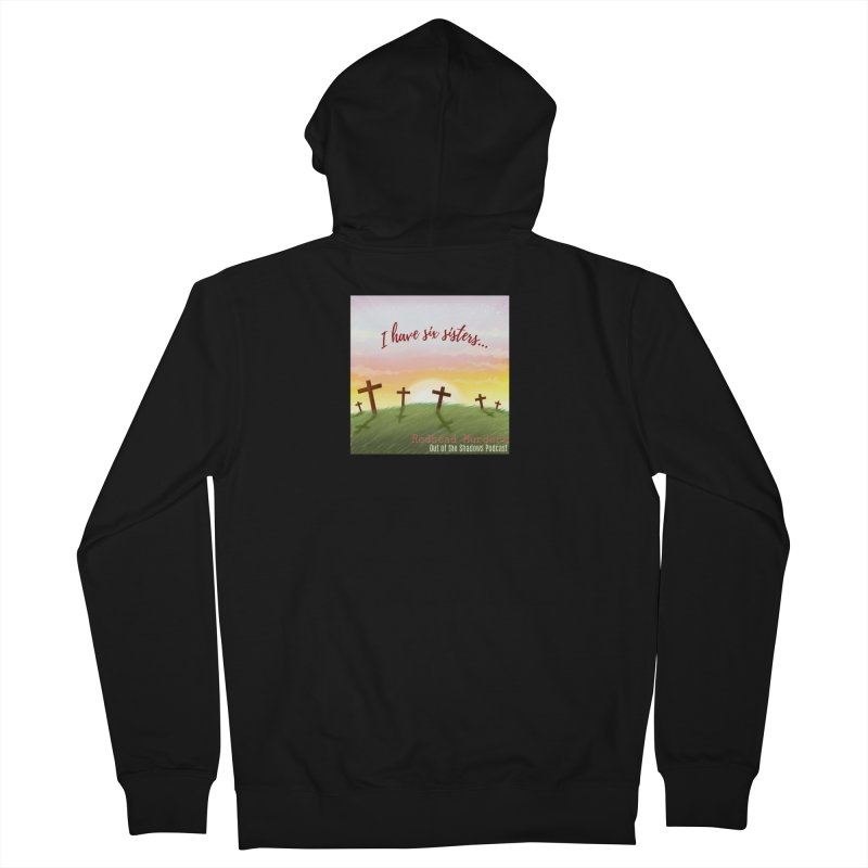 Redhead Murders Men's French Terry Zip-Up Hoody by Out of the Shadows's Store