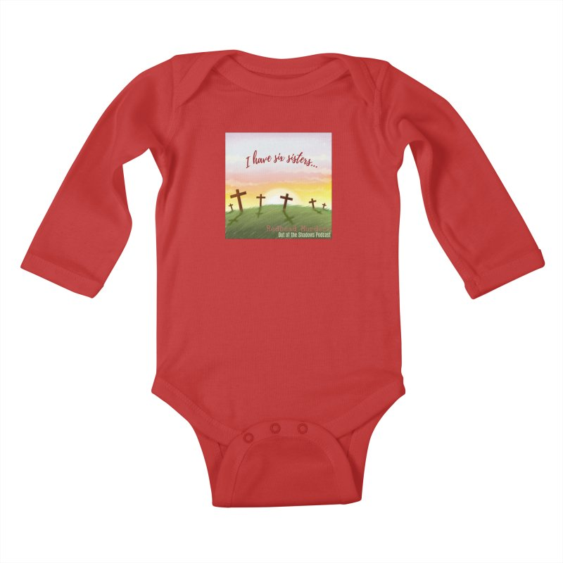 Redhead Murders Kids Baby Longsleeve Bodysuit by Out of the Shadows's Store