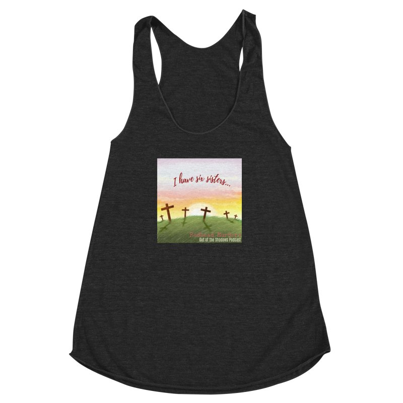 Redhead Murders Women's Racerback Triblend Tank by Out of the Shadows's Store