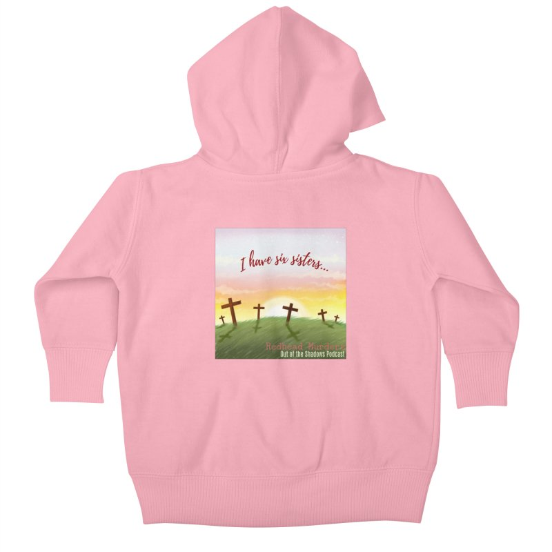 Redhead Murders Kids Baby Zip-Up Hoody by Out of the Shadows's Store