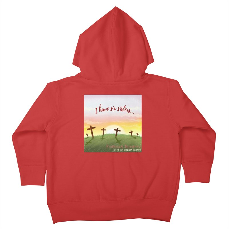Redhead Murders Kids Toddler Zip-Up Hoody by Out of the Shadows's Store