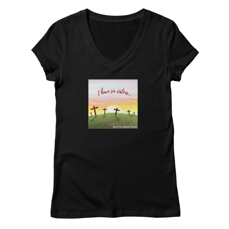 Redhead Murders Women's Regular V-Neck by Out of the Shadows's Store