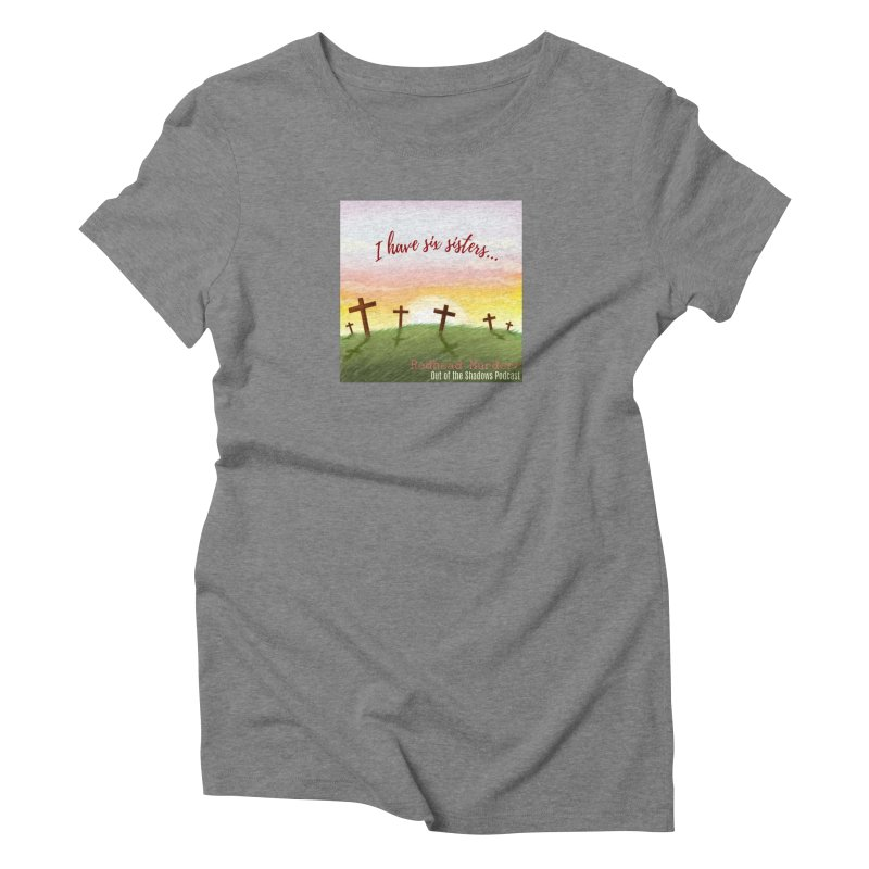 Redhead Murders Women's Triblend T-Shirt by Out of the Shadows's Store