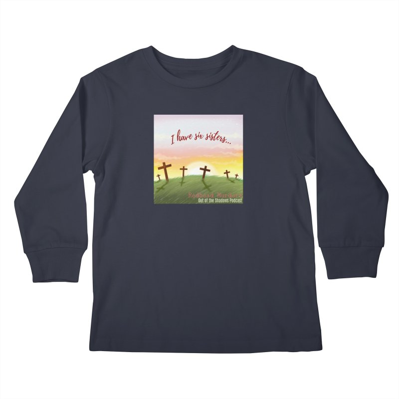 Redhead Murders Kids Longsleeve T-Shirt by Out of the Shadows's Store