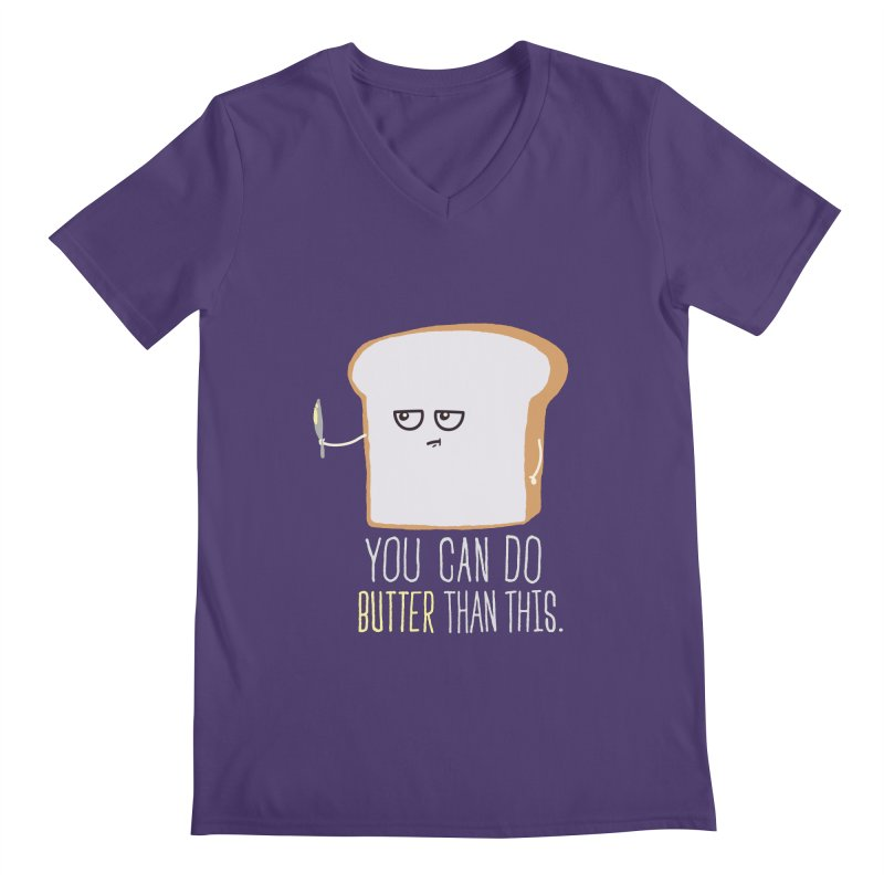 You can do Butter! Men's V-Neck by shadyjibes's Shop