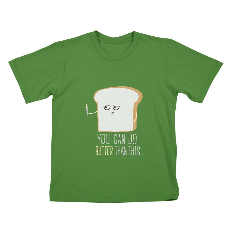 You can do Butter! Kids T-shirt by shadyjibes's Shop