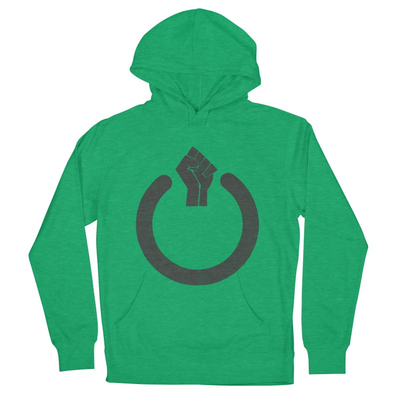Fight the Power! Men's French Terry Pullover Hoody by shadyjibes's Shop