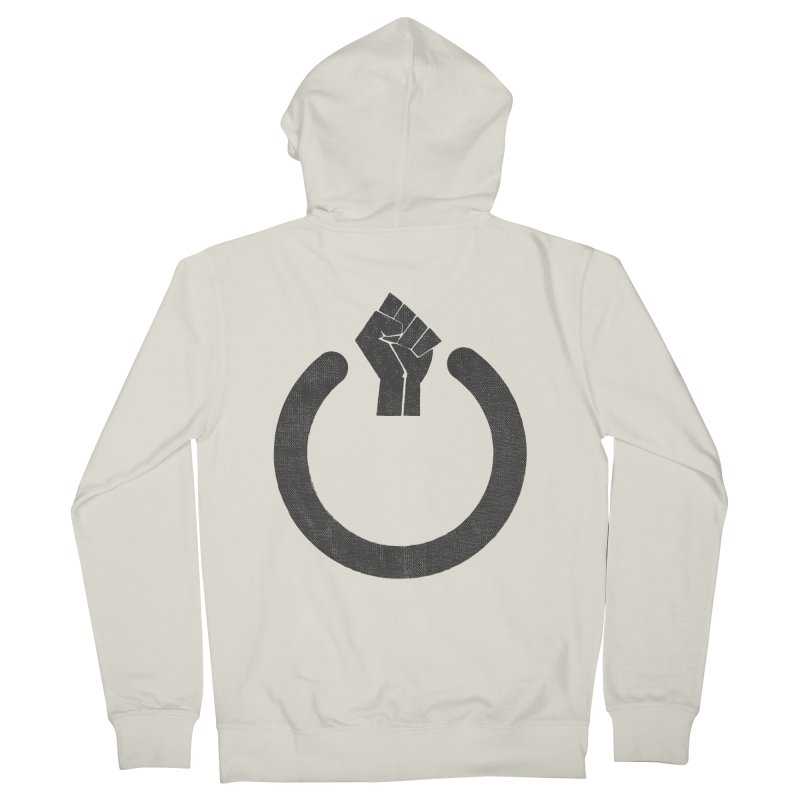 Fight the Power! Men's Zip-Up Hoody by shadyjibes's Shop