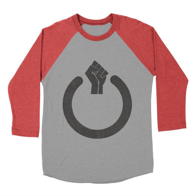 Fight the Power! Men's Baseball Triblend T-Shirt by shadyjibes's Shop