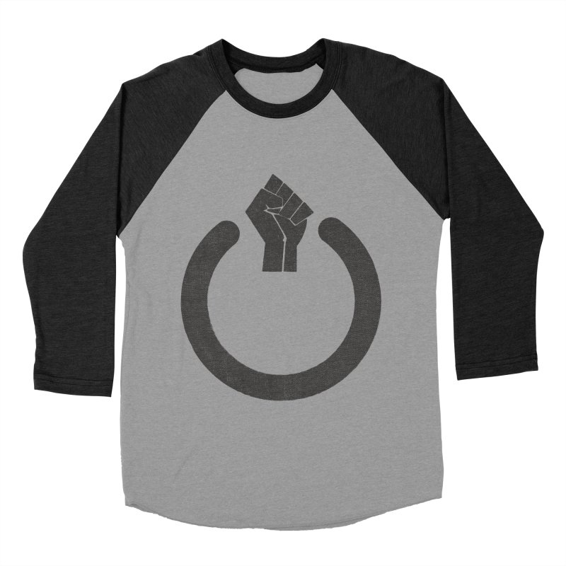 Fight the Power! Men's Baseball Triblend Longsleeve T-Shirt by shadyjibes's Shop