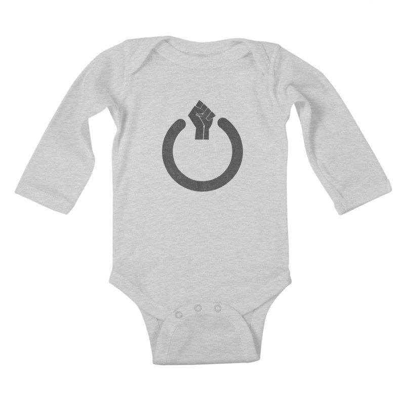 Fight the Power! Kids Baby Longsleeve Bodysuit by shadyjibes's Shop