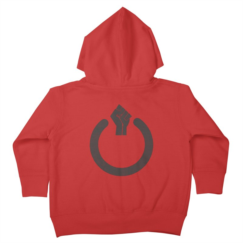 Fight the Power! Kids Toddler Zip-Up Hoody by shadyjibes's Shop