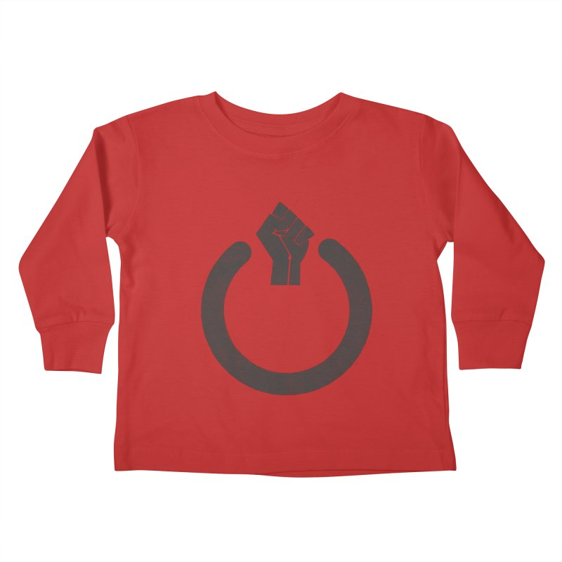 Fight the Power! Kids Toddler Longsleeve T-Shirt by shadyjibes's Shop