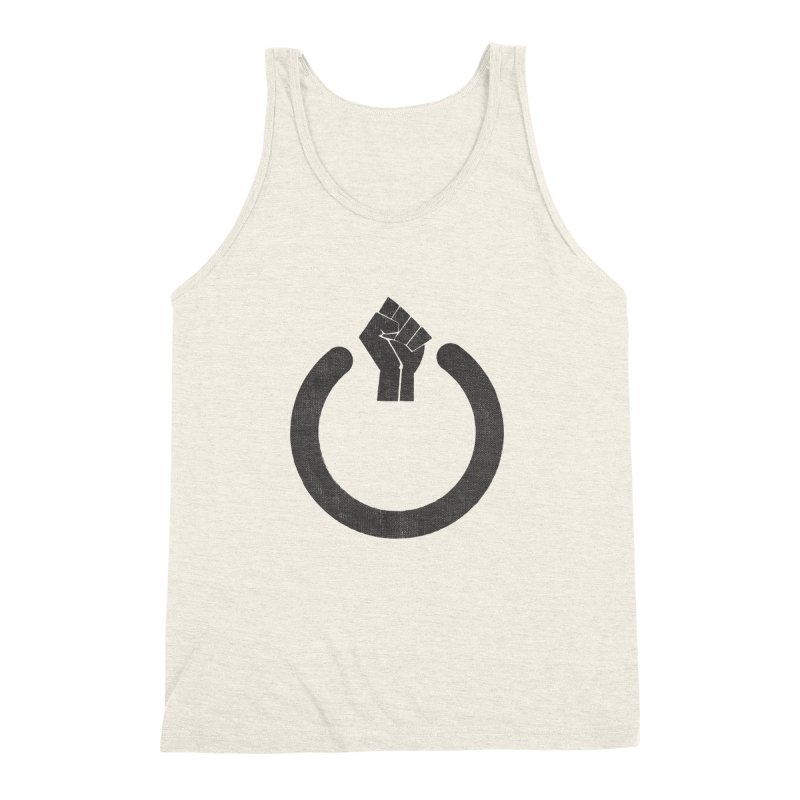 Fight the Power! Men's Triblend Tank by shadyjibes's Shop