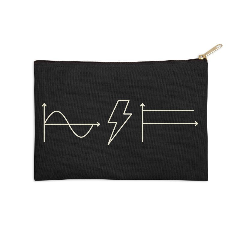 AC/DC Accessories Zip Pouch by shadyjibes's Shop