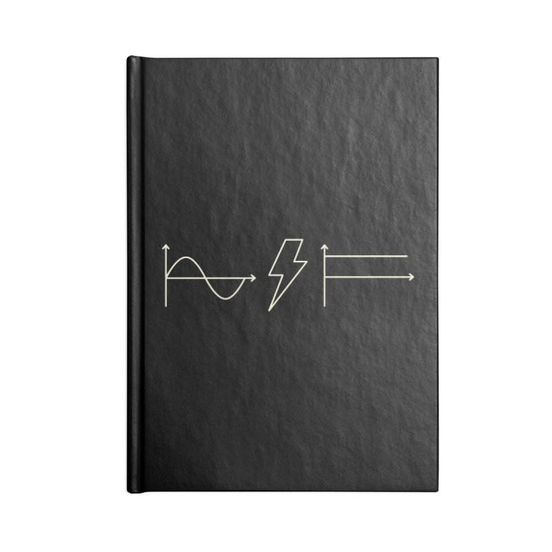 AC/DC Accessories Notebook by shadyjibes's Shop