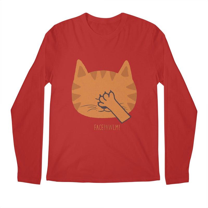 Facepawlm Men's Longsleeve T-Shirt by shadyjibes's Shop