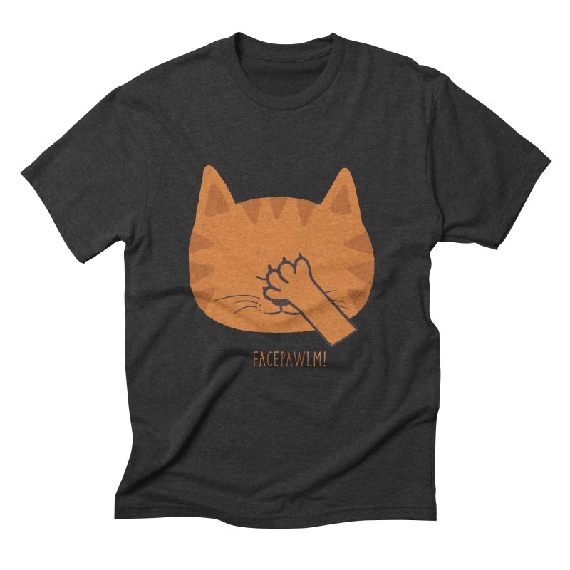 Facepawlm Men's Triblend T-shirt by shadyjibes's Shop
