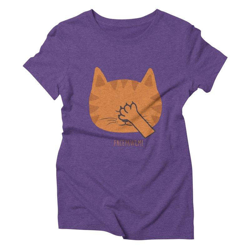 Facepawlm Women's Triblend T-Shirt by shadyjibes's Shop