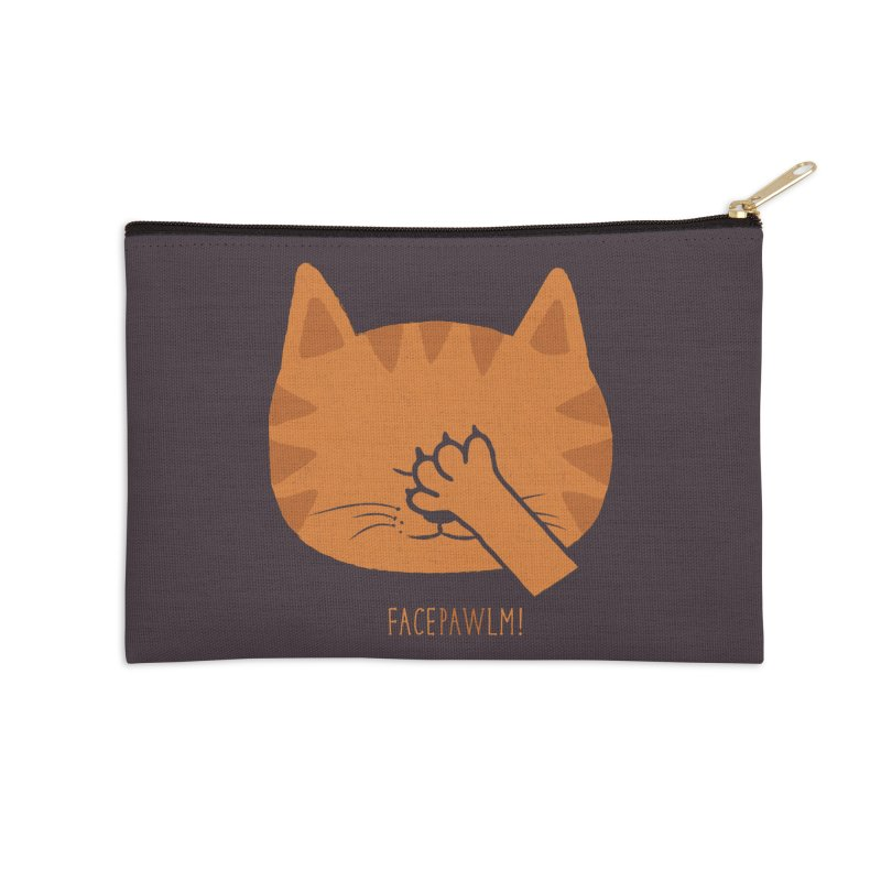 Facepawlm Accessories Zip Pouch by shadyjibes's Shop