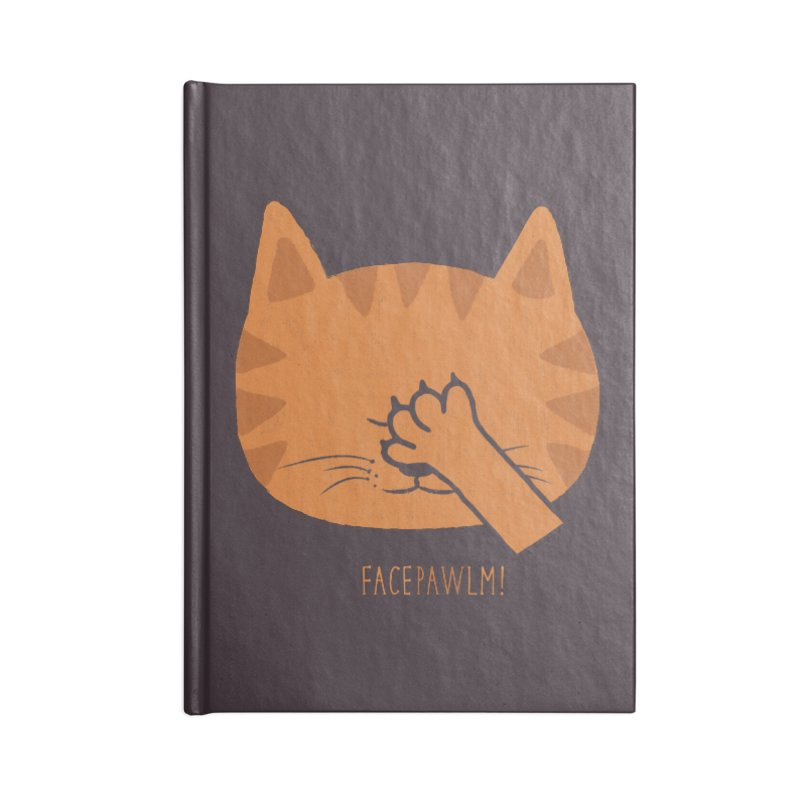 Facepawlm Accessories Notebook by shadyjibes's Shop