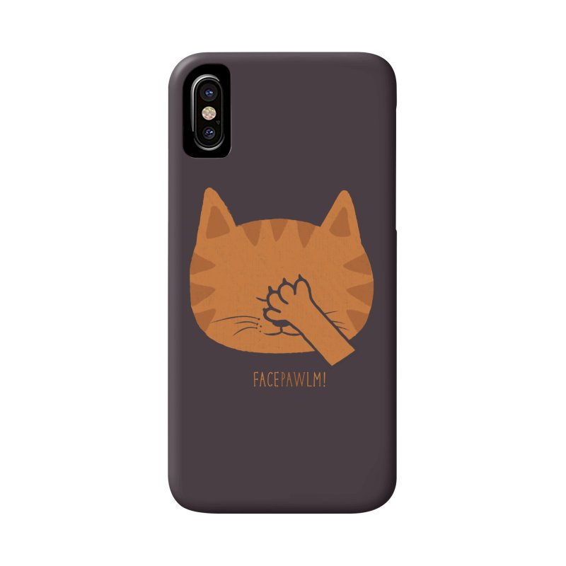 Facepawlm Accessories Phone Case by shadyjibes's Shop