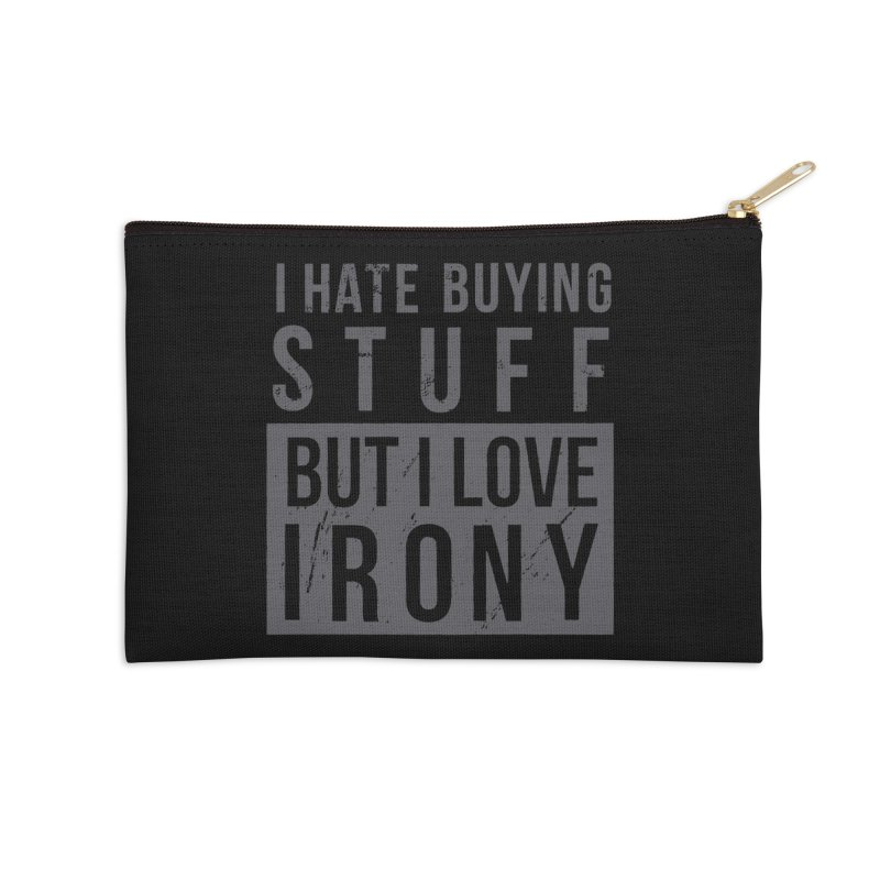 Ironic Accessories Zip Pouch by shadyjibes's Shop
