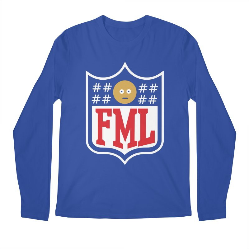 In my League Men's Longsleeve T-Shirt by shadyjibes's Shop