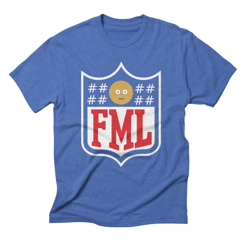 In my League in Men's Triblend T-Shirt Blue Triblend by shadyjibes's Shop