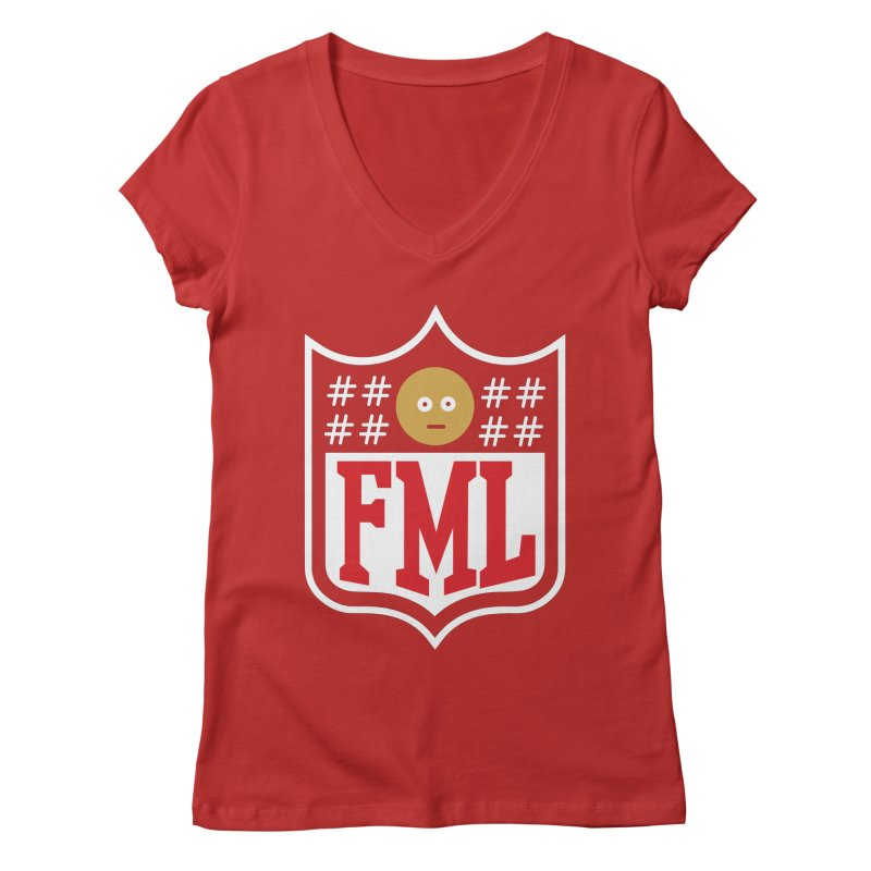 In my League Women's V-Neck by shadyjibes's Shop